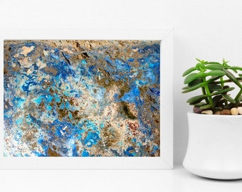 Abstract fine art print of Cornwall - limited edition