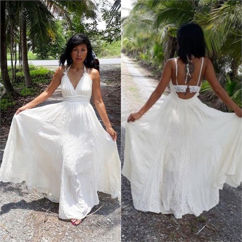 532155b8f804 Handmade Halter Maxi Dress/Bohemian Lace Maxi Dress/Boho | Etsy