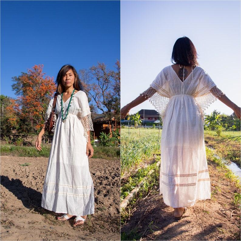 8ad8b9a6bb23 Handmade Crochet Dress/Bohemian Maxi Dress/Boho Summer Maxi | Etsy