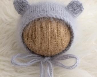RTS rouge Tuque nouveau-né Tuque Slouch hat nouveau-né photo prop bébé  Tuque rouge bébé ... 68feae3a67d