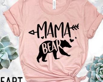 Mama Bear Shirt - Mom Shirt - Mommy Shirt - Mom Tee Shirt - Mom Tank - Gift For Mom - Mom Birthday Gift - Mother's Day Gift Basket
