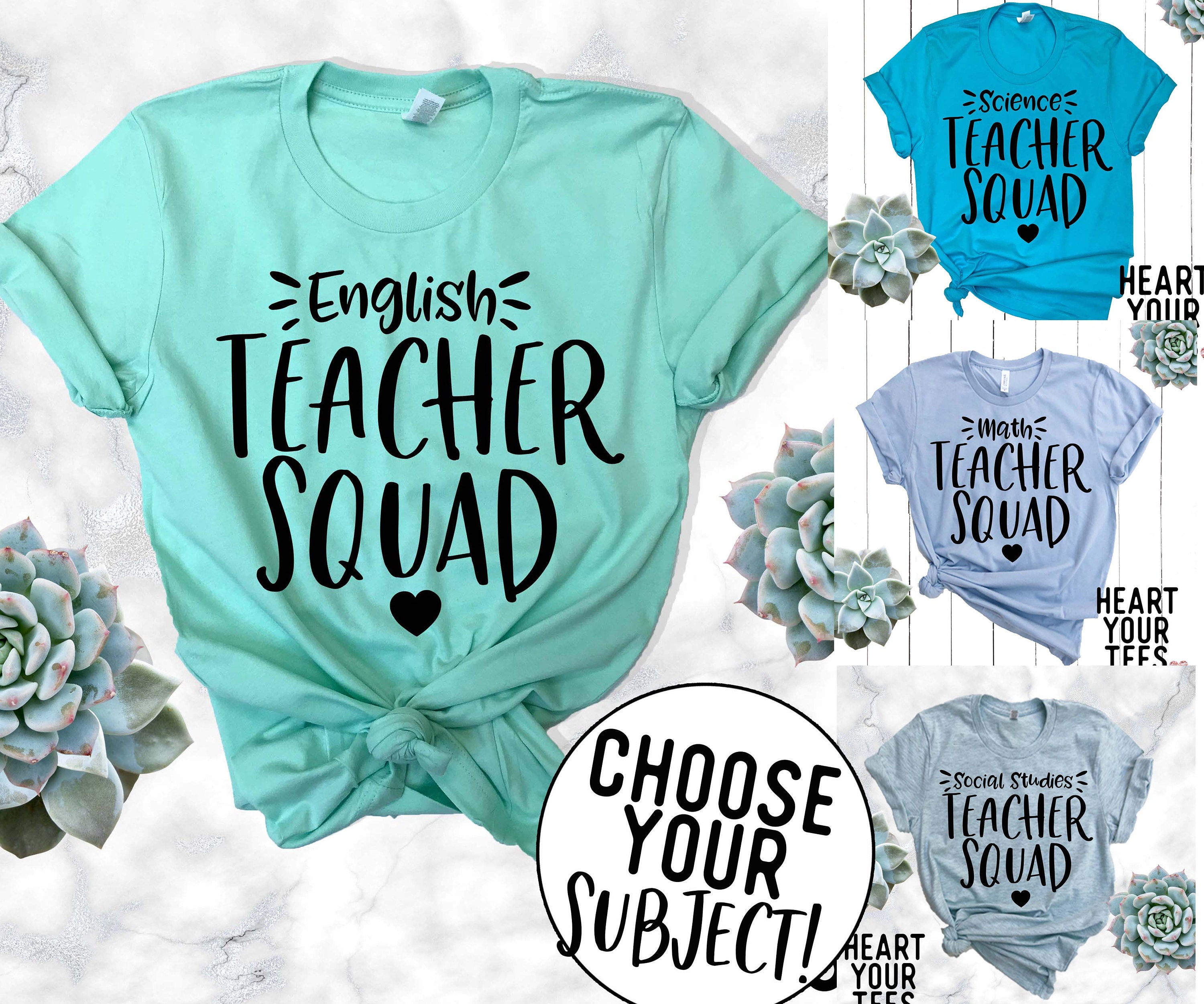 Teacher Shirt, Teacher Group Shirts, Custom Teacher Tee, Personalized  Teacher Shirt, Teacher Field Trip Shirts, Teacher Conference Tees