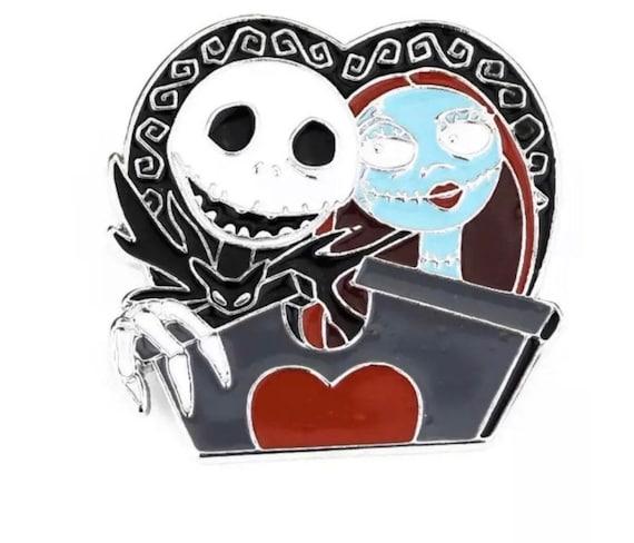 Jack & Sally Enamel Pin