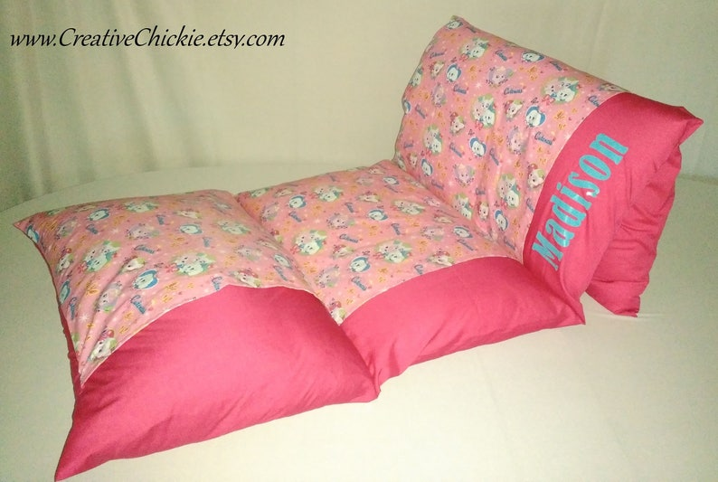 Sleepover Bed Children/'s Pillow Bed Pillow Mattress Personalized Nap Mat Girl Pillow Bed Personalized Modern Floral Pillow Bed