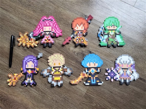 Fire Emblem Three Houses Golden Deer Timeskip Perlers Hilda Etsy In other words, this is the second chapter in our fe: fire emblem three houses golden deer timeskip perlers hilda leonie ignatz lorenz raphael marianne lysithea