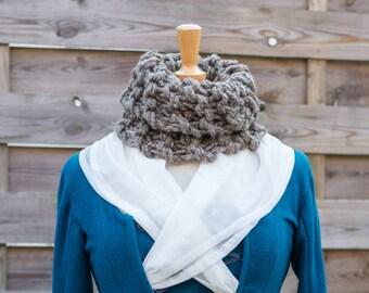 Outlander cowl, Claire Fraser, chunky cowl, Outlander inspired, outlander costume, Outlander gifts, Jamie Fraser, Sassenach, outlander knits