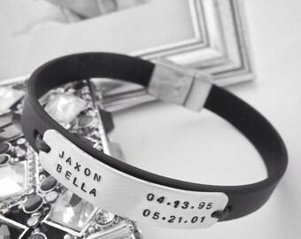 Dad Gift. Daddy Bracelet. Dad bracelet. Dad Birthday. Daddy gift. Father's day. Fathers day gift. New Dad. Father gift. New Dad. Dad.