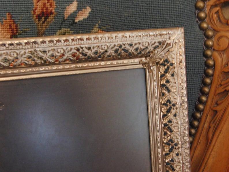 Vintage metal photo frame