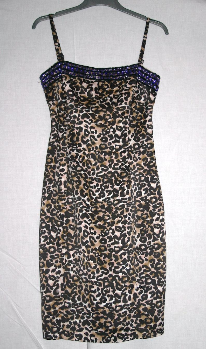 4a62d5883597 LEOPARD DRESS Karen Millen DressKaren Millen Leopard | Etsy