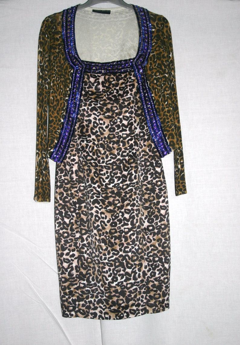 3e61162d768 LEOPARD DRESS Karen Millen DressKaren Millen Leopard   Etsy