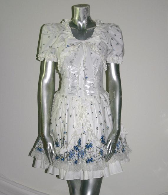 GOTHIC LOLITA  DRESS, Vintage Gothiclolitas Dress
