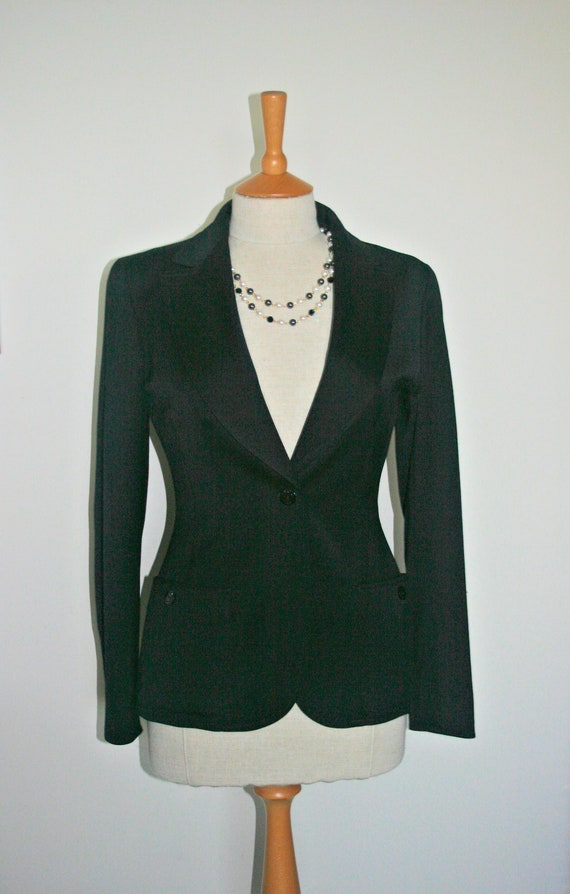 CHANEL BLACK JACKET, Chanel Black Blazer, Understa