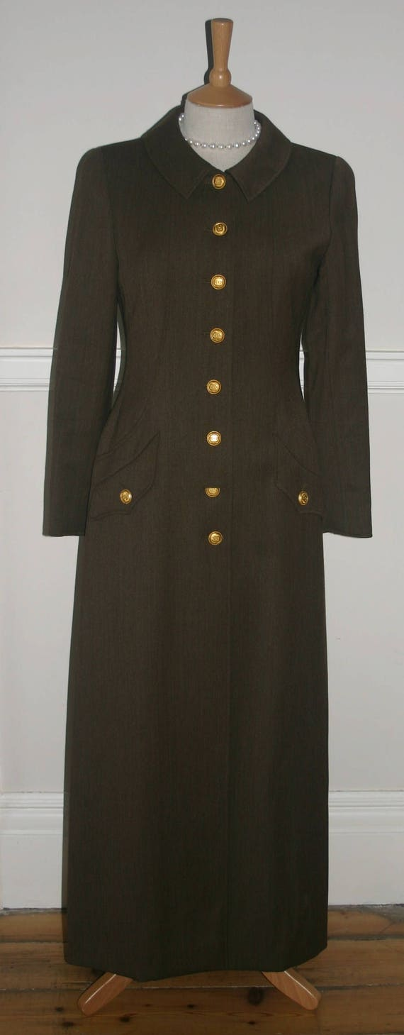 CHANEL MILITARY COAT, Trench Coat, Chanel  Gold Bu