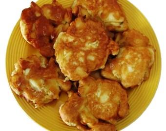 Recipe - Easy Fruit or Vegetable Fritters