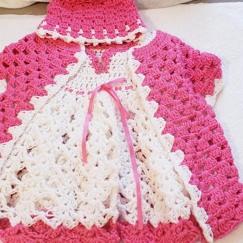 3 Pc Cardigan Outfit Crochet Outfit Pink Dress Cardigan Crochet Dress Cardigan