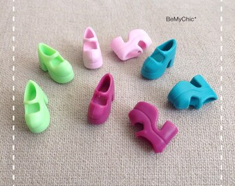 1d73c8cea7 Lot of 4 pairs of Blythe Shoes Barbie Shoes Mary Jane