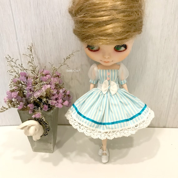 Cute Little Minnie Blythe Dress Dal Pullip Dress Cloth Outfit