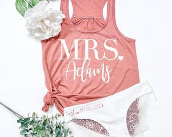 Bridal Underwear Bride Boyshorts with Rhinestones Bachelorette Party Gift Bride Lingerie Honeymoon Lingerie Wedding Lingerie