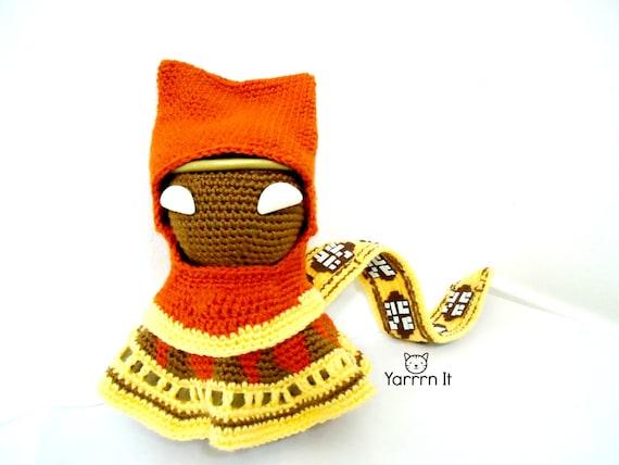 Reise Sackboy Amigurumi Puppe häkeln auf Bestellung | Etsy