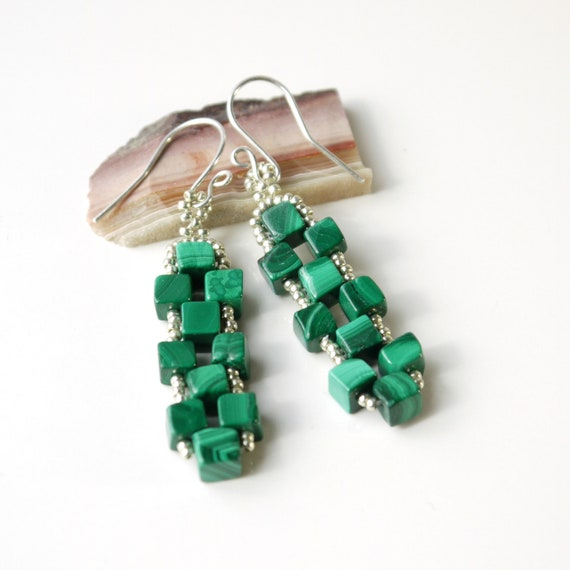 Check the video of these gorgeous earrings.......Long dangling mix glass seed beads boho gift sterling silver seed beads
