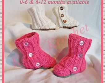 Baby Booties Crochet Etsy