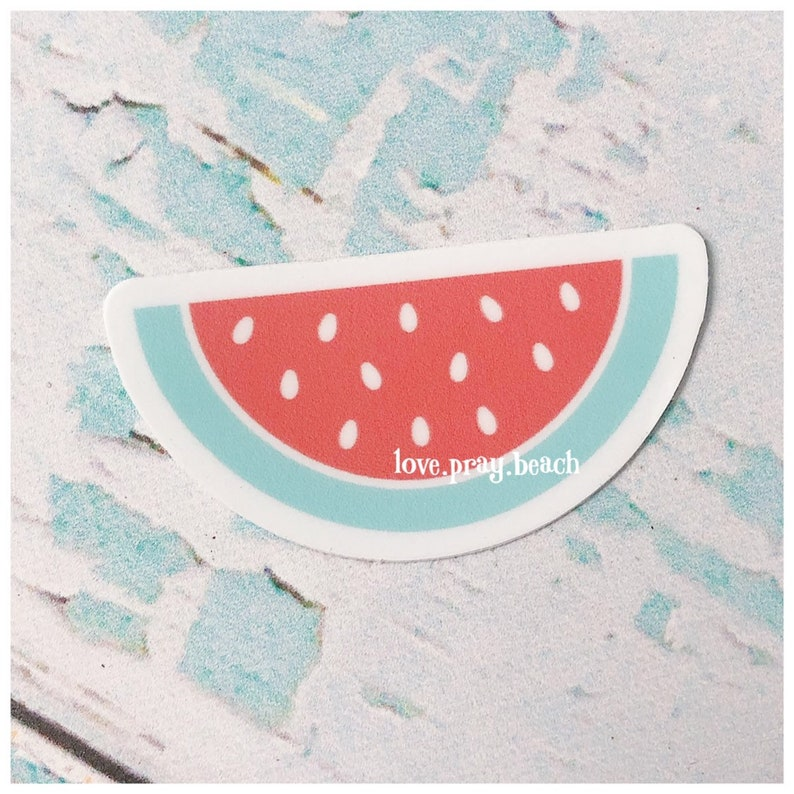 FREE SHIPPING Watermelon Vinyl Sticker image 0