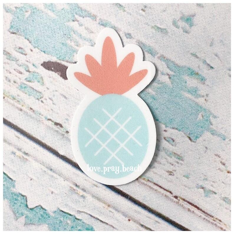FREE SHIPPING Pineapple Vinyl Sticker image 0