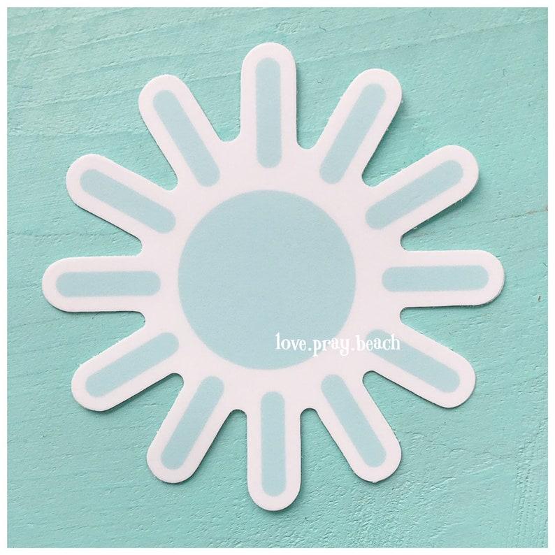 FREE SHIPPING Sunshine Vinyl Sticker image 0