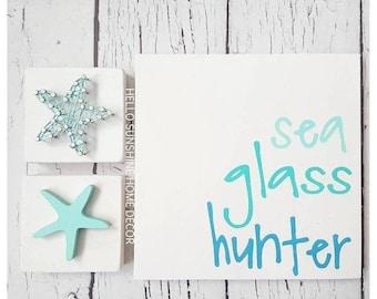 FREE SHIPPING Sea Glass Hunter