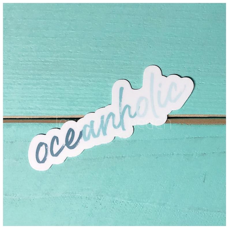 FREE SHIPPING Oceanholic Vinyl Sticker image 0