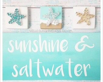 FREE SHIPPING Sunshine and Saltwater