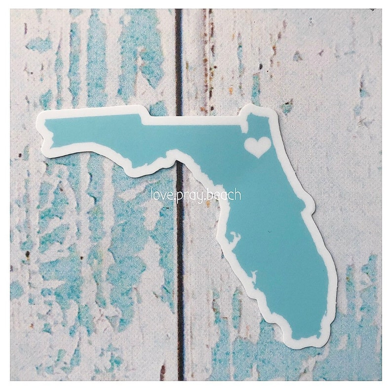 FREE SHIPPING Jax Beach Vinyl Sticker image 0