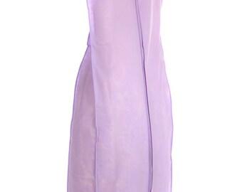 "Fur Coat Storage Garment Bag BLACK PURPLE Cotton Breathable 45/"" Long-FREE SHIP"