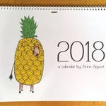 2018 Children's Illustration Wall Calendar