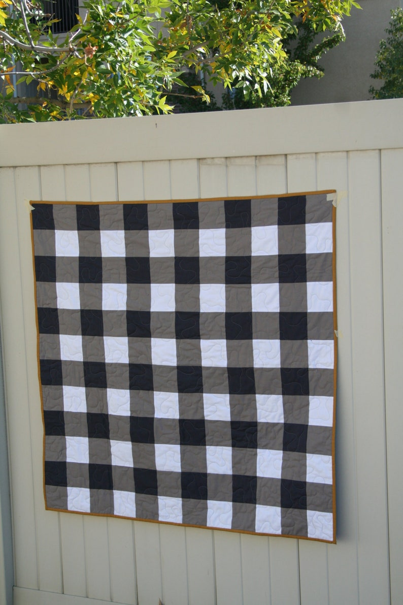 Gingham Quilt Pattern image 0