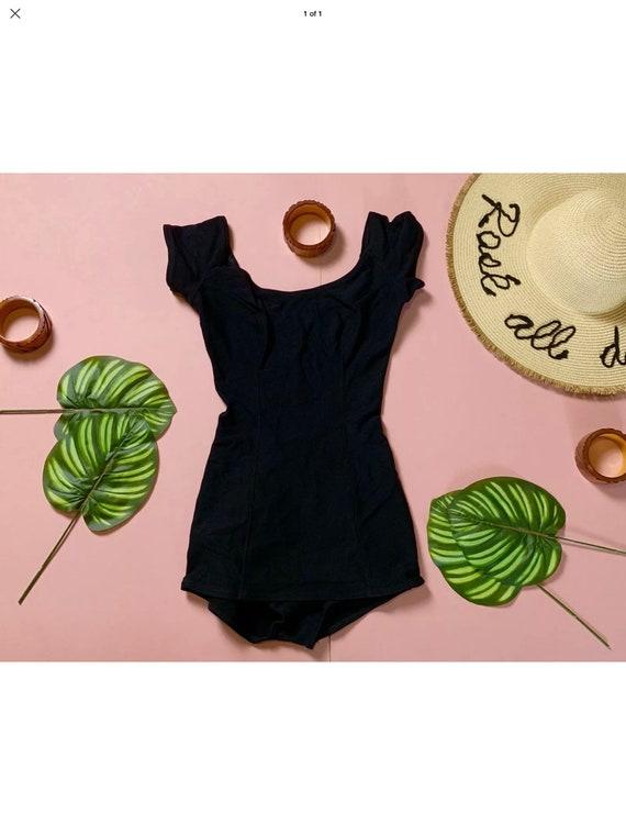 Vintage black rare Jantzen Swimsuit