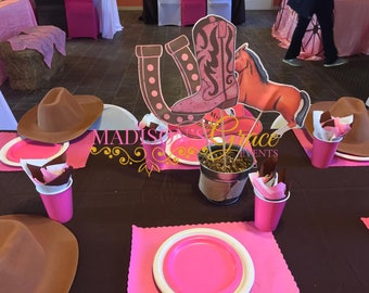 Cowgirl Centerpieces