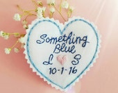 Something Blue for Bride. Dress Label. Wedding Dress Label. Bridal Shower Gift. Wedding Dress Patch. Gift for Bride. Bridal Shower. Blue.
