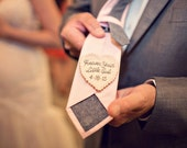 Father of the Bride. Father of the Bride gift. Gift for Dad. Tie Patch. Mens tie. Embroidery. Groom Gift. Hand Stitched Wedding Tie Patch.