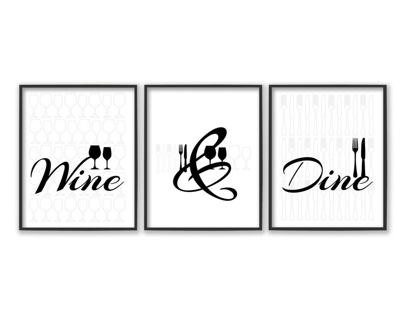 Dining Room Wall Art Kitchen Prints