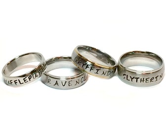 Personalized Metal Stamped Stainless Steel Ring