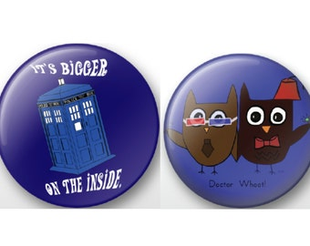 Doctor Who Pin