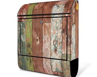 Holz Briefkasten Etsy