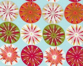 Fabric Kumari Garden Holiday Sashi' Ice by Dena Designs 1 yard