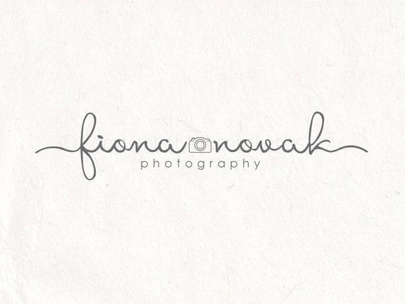 Photography Logo Premade Logo Design Watermark Logo Design Etsy