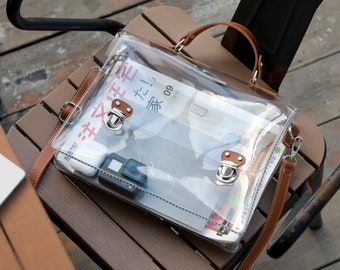 Clear backpack satchel 253aa82ff052d
