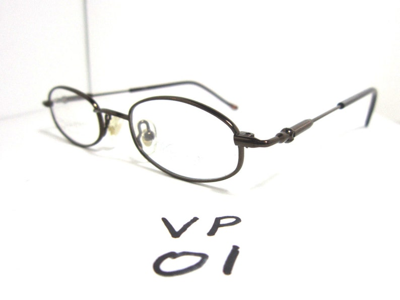 47fed990a69e Vintage Versailles Palace Eyeglasses Stainless Steel Coffee