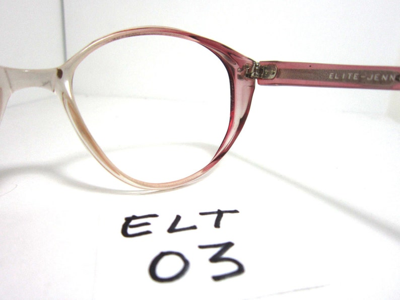 90144019c721 Vintage Elite Women s Oval Eyeglasses Frame in Lavender