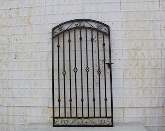 Wrought Iron Gate Etsy