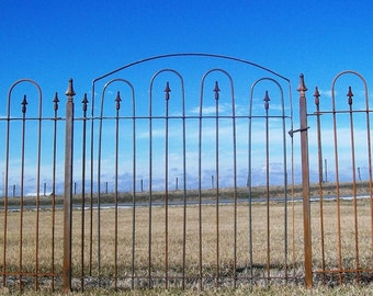 Ornate Wrought Iron Gate That Works With Our 5 Tall Etsy